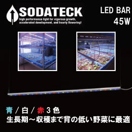 SODATECK LED BAR 白/青/赤3色