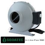 SODATECK In Line Fan Φ100  ファンスピードコントローラー付き!!