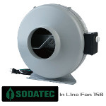 SODATECK In Line Fan Φ150  ファンスピードコントローラー付き!!